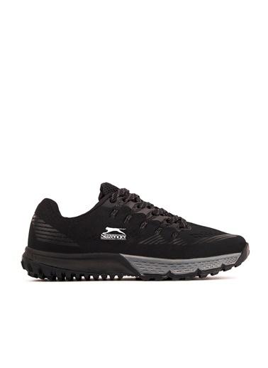 Slazenger Slazenger WILL Koşu & Yürüyüş Erkek Ayakkabı  Siyah